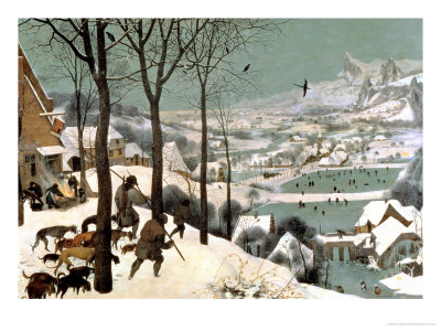Hunters in the Snow Bruegel